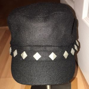 Studded hat wore a couple times in good condition